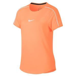 0962836b68983 SALE Girls` Court Dry Tennis Top Nike ...