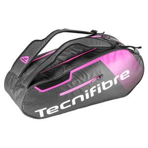 Women`s Endurance 6 Pack Tennis Bag Black and Pink