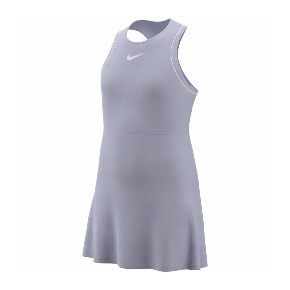 c3d11bb77 Nike Girls' Court Dry Tennis Dress in Oxygen Purple
