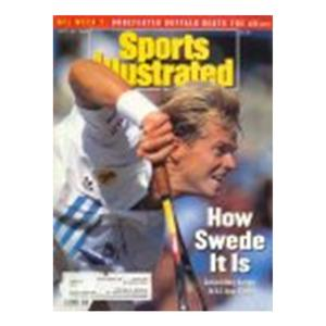 SPORTS ILLUSTRATED Cover Sept. 21, 1992