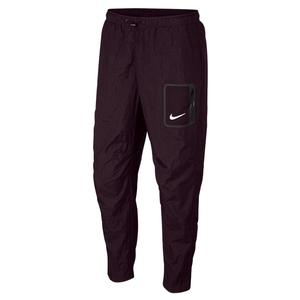 Men`s Court Stadium Tennis Pant Burgundy Ash