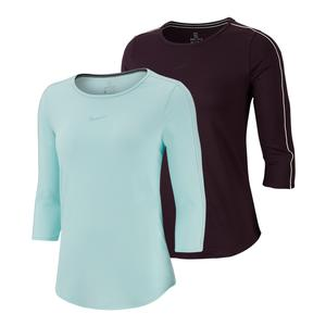 Women`s Court 3/4 Sleeve Tennis Top