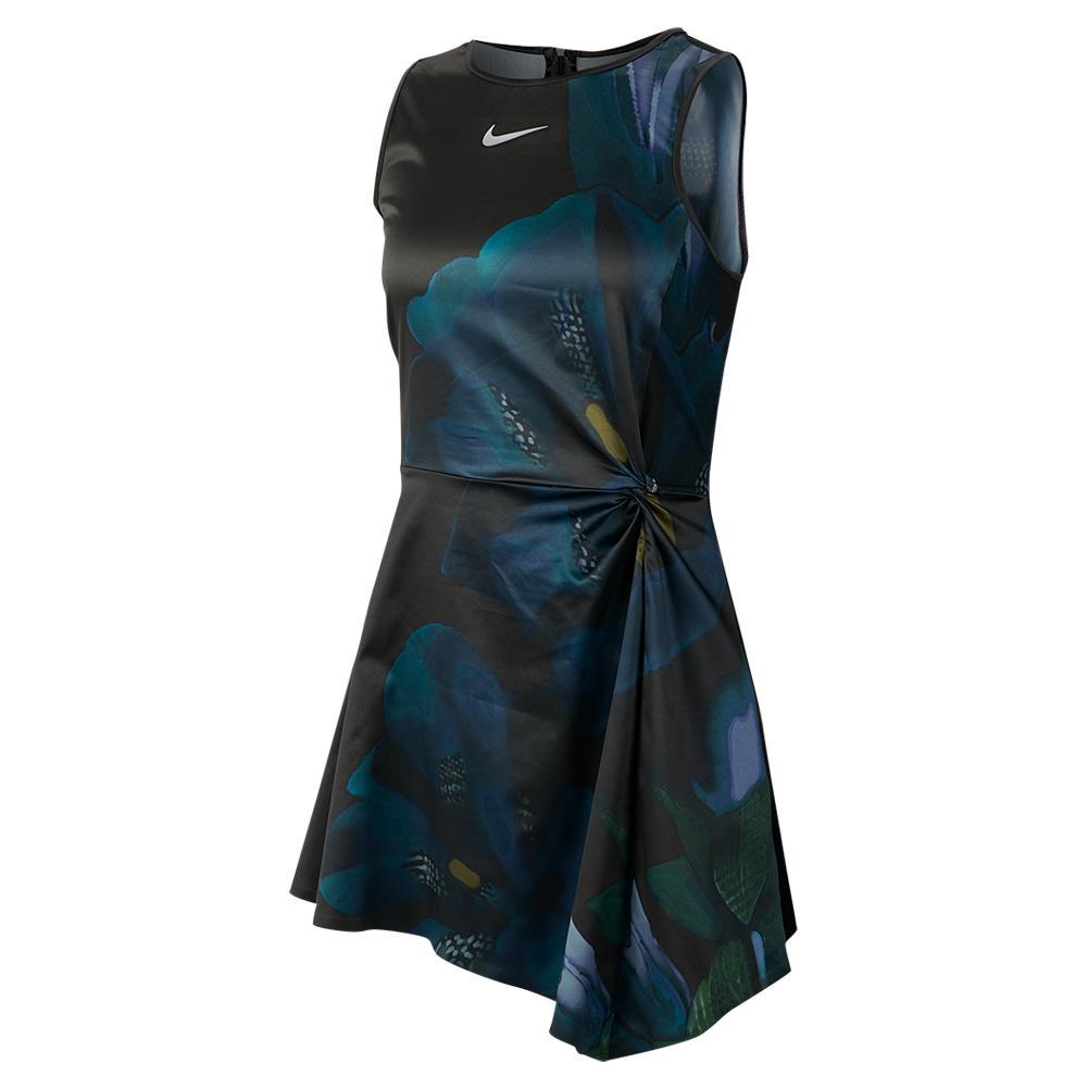 e42950a6cde1 Women`s Maria Court Tennis Dress 010_BLACK ...