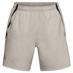 Men`s Launch Stretch-Woven 7 Inch Short Khaki Base