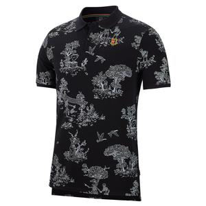 Men`s Toile Court Heritage Tennis Polo