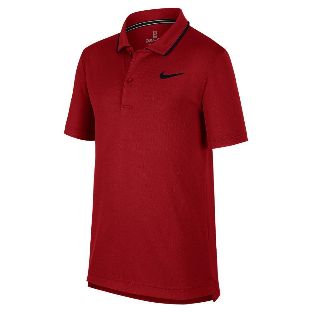 Boys ` Court Dry Team Tennis Polo