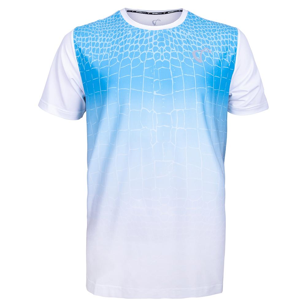 Boys ` Ecdysis Mesh Back Ventilator Tennis Crew Blue