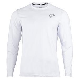 Men`s Ventilator Long Sleeve Tennis Top White