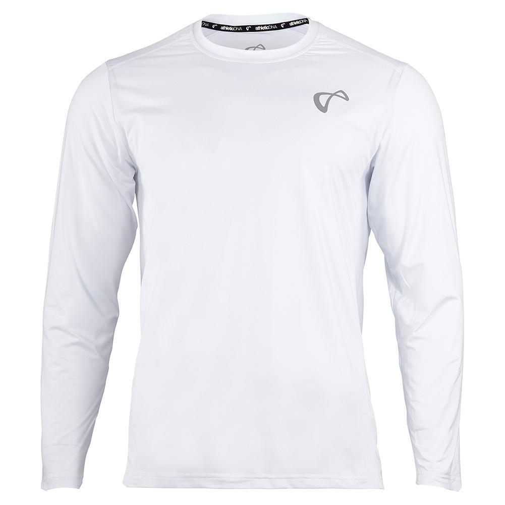 Boys ` Ventilator Long Sleeve Tennis Top White