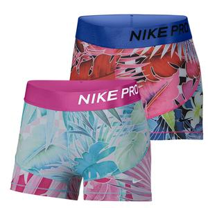 Women`s Pro Training Short Print