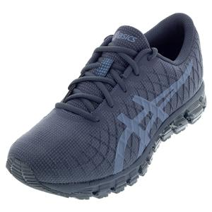 Men`s GEL-Quantum 180 4 Running Shoes Tarmac and Steel Blue