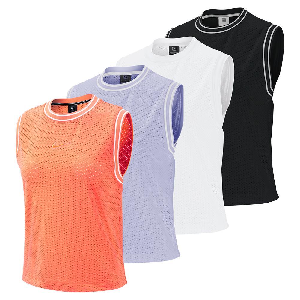 big sale 975a7 e2ea9 Nike Women s Elevated Court Essentials Tennis Tank
