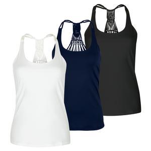 Women`s Macrame Tennis Cami