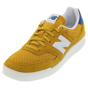 Men`s 300 Lifestyle Shoes Varsity Gold and White