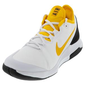 Men`s Air Max Wildcard Tennis Shoes White and University Gold