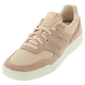 Women`s 300 Lifestyle Shoes Sandstone and White