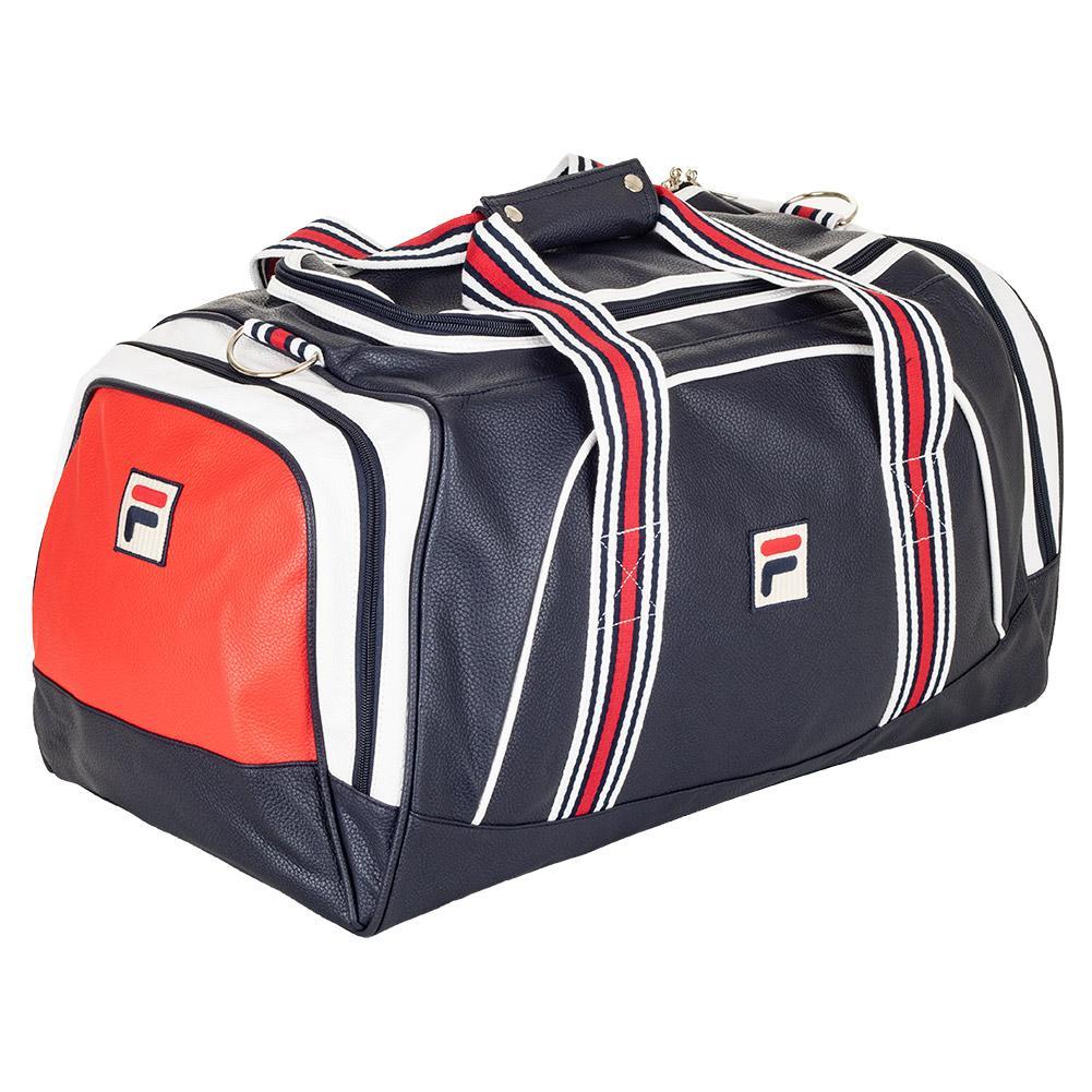 FILA FILA Striker Tennis Duffle Bag Navy And White. Zoom 01da8e270f