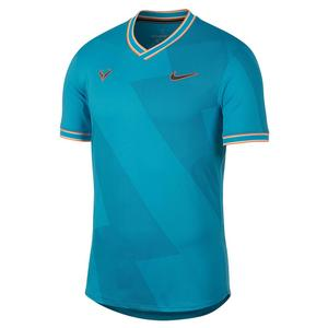 Men`s Rafa AeroReact Jacquard Tennis Top