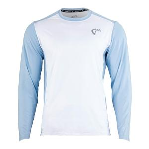 Boys` Ventilator Long Sleeve Tennis Top White and Arctic