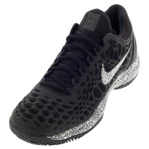 quality design 8bb24 220fe Men`s Zoom Cage 3 Tennis Shoes Black and White Nike ...