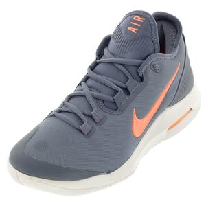 Women`s Air Max Wildcard Tennis Shoes Metallic Blue Dusk and Bright Mango