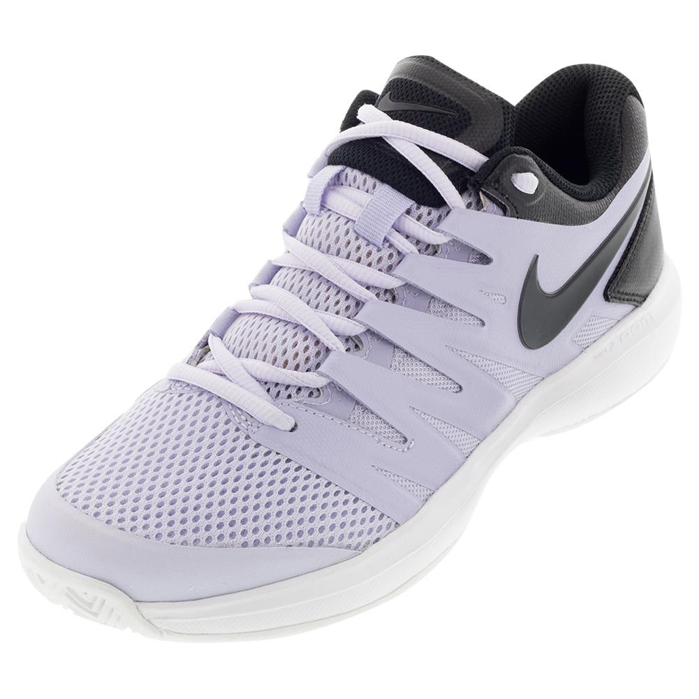 Women's Air Zoom Prestige Tennis Shoes Oxygen Purple And Black