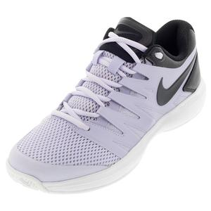 Women`s Air Zoom Prestige Tennis Shoes Oxygen Purple and Black
