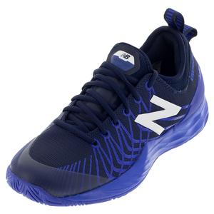 Men`s Fresh Foam LAV D Width Tennis Shoes Navy Blue