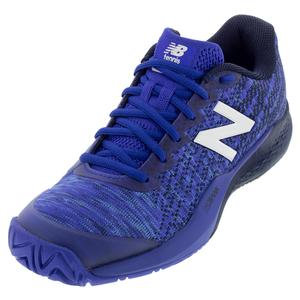 Men`s 996v3 D Width Tennis Shoes UV Blue and Pigment