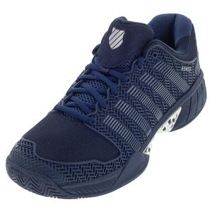 Men`s Hypercourt Express SE Tennis Shoes Insignia Blue and Silver