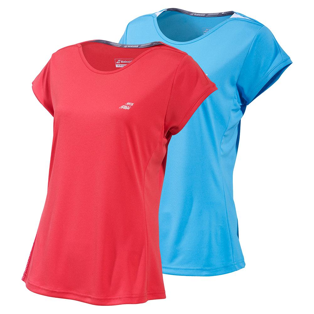Women's Performance Cap Sleeve Tennis Top