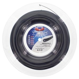 Hexagon-X 16G/1.28MM Tennis String Reel Black