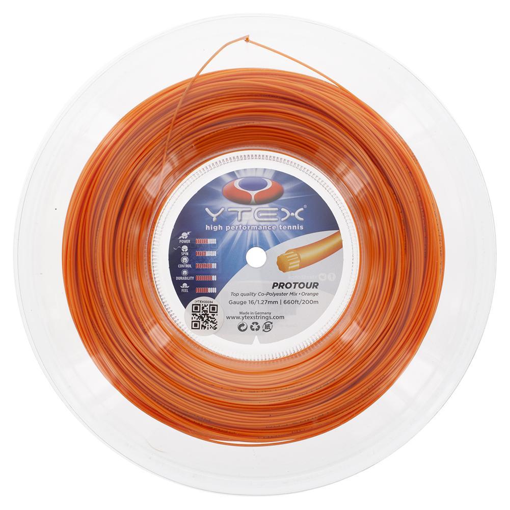 Protour 16g/1.27mm Tennis String Reel Orange