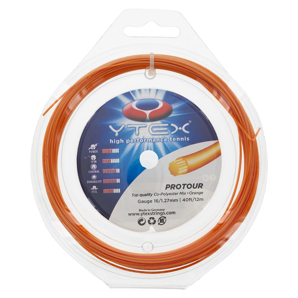 Protour 16g/1.27mm Tennis String Orange