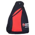 Pickleball Sling Bag Black and Red