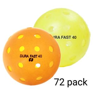 Dura Outdoor Pickleball 72 Pack