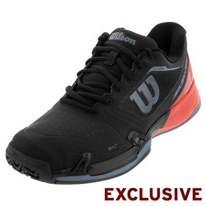 Men`s 2019 Rush Pro 2.5 Tennis Shoes Black and Red