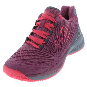Women`s Kaos 2.0 Tennis Shoes Plum and Flint