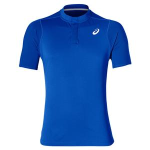 Men`s Gel-Cool Tennis Polo Illusion Blue