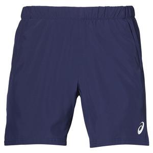 Men`s Club 7 Inch Tennis Short Indigo Blue