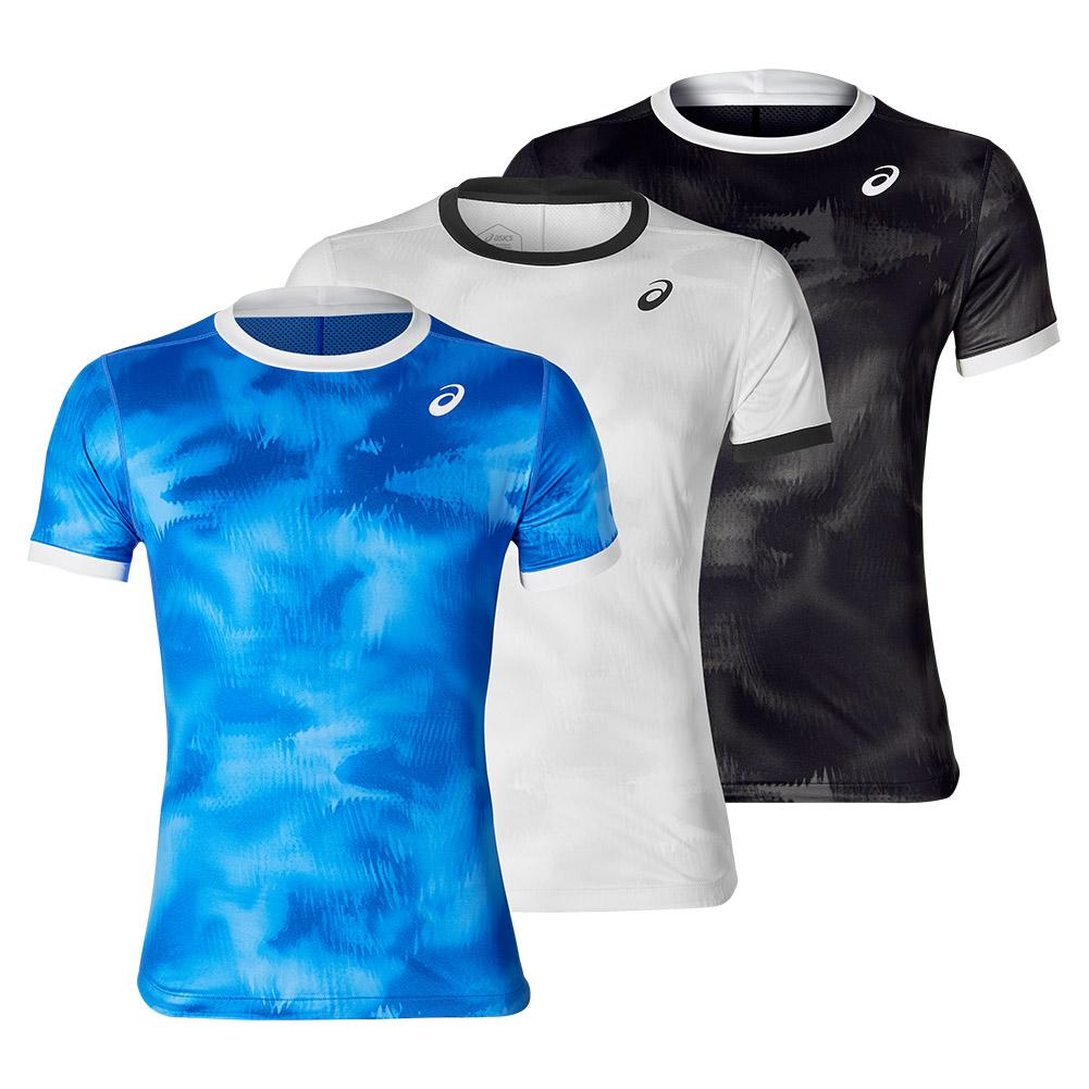 Men's Club Graphic Short Sleeve Tennis Top