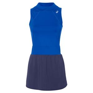 Women`s Gel-Cool Tennis Dress Illusion Blue