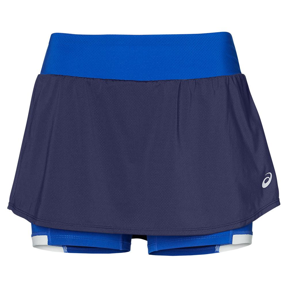 Women's Elite Tennis Skort Indigo Blue