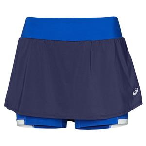 Women`s Elite Tennis Skort Indigo Blue