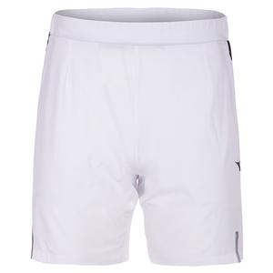 Men`s Bermuda Micro Tennis Short Optical White