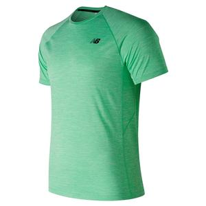 Men`s Tenacity Tennis Top Neon Emerald