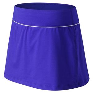 Women`s Rally Court Tennis Skort UV Blue