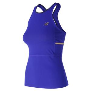 Women`s Tournament Tennis Tank UV Blue
