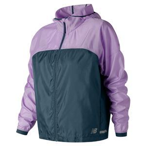 Women`s Light Packable Tennis Jacket Violet Glo