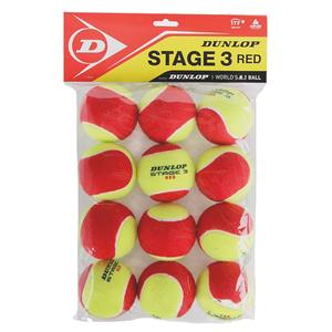 Stage 3 Red 12 Ball Polybag